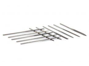 Pilník jehlový 14cm/12ks