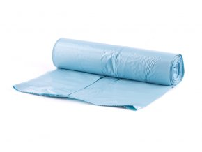 Pytel PE modrý 70x110cm/15ks-80my