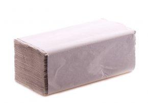 Ručníky papír.ZIK-ZAK 250ks šedé