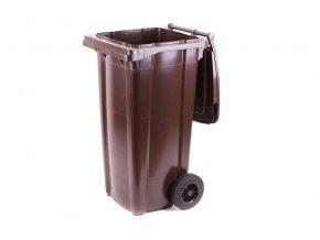 57208 popelnice hranata 120l pvc zelena