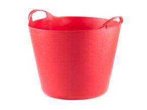 Nádoba PVC 15l uni červená
