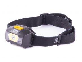Svítilna LED čelovka se senzorem