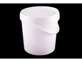 Vědro s víkem 20l /plast bílé