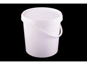 Vědro s víkem 10,7l/plast bílé