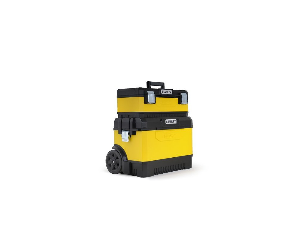 Kovoplastový pojízdný box + box na nářadí