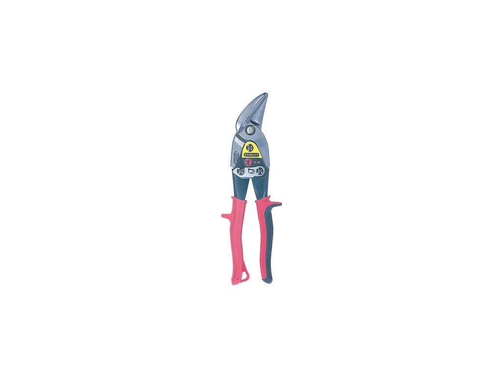 Nůžky na plech FatMax® Aviation levé vyhnuté