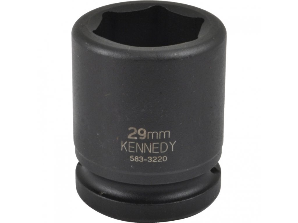 "1/2"" 6hranná průmyslová hlavice19-26mm CrMo Kennedy (zvolte variantu)"