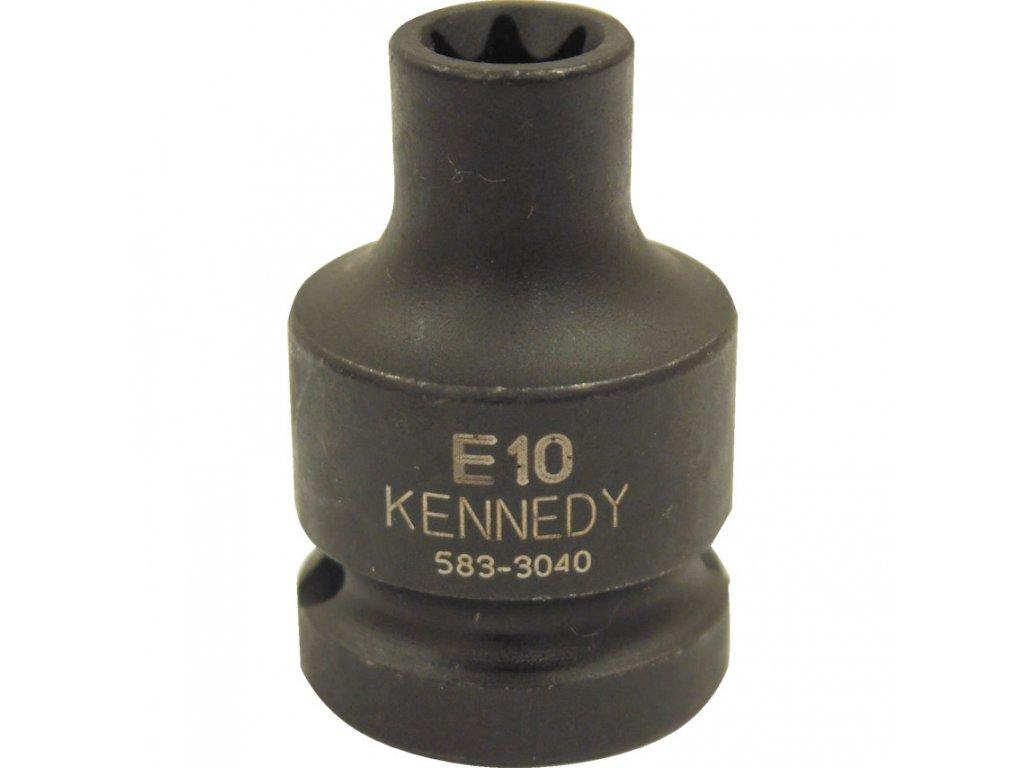 Rázová nástrčná hlavice Torx-E, , E10 -E22 Kennedy (zvolte variantu)