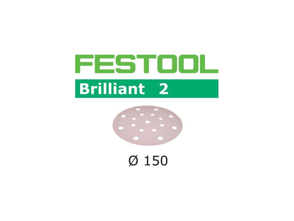 Brusné kotouče STF D150/16 P400 BR2/100 Brilliant 2