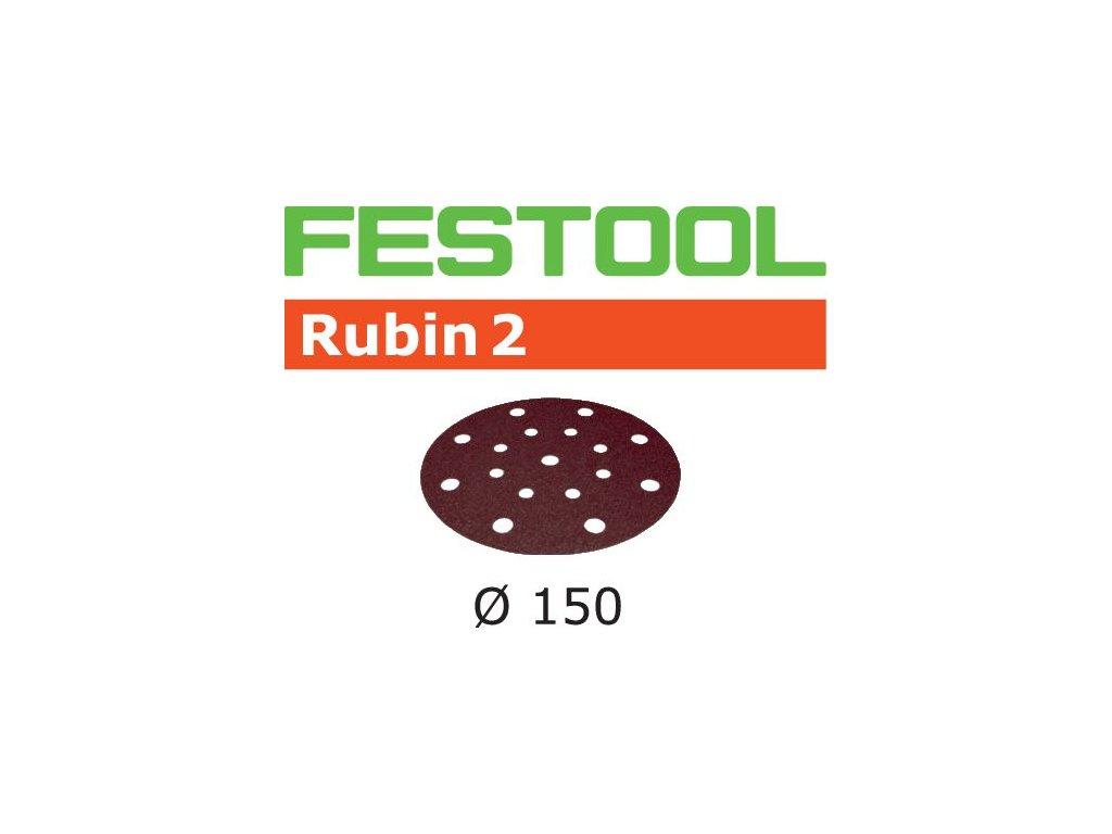 Brusné kotouče STF D150/16 P180 RU2/50 Rubin 2