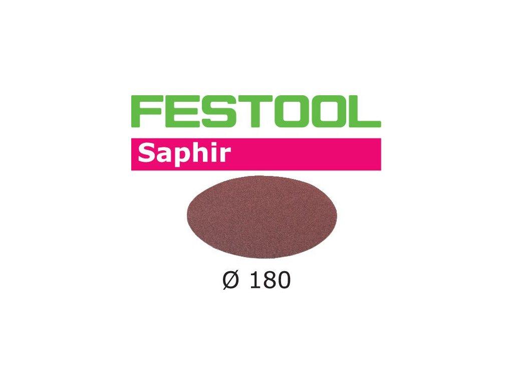 Brusné kotouče STF D180/0 P80 SA/25 Saphir