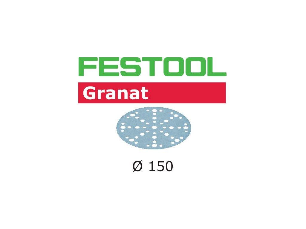 Brusné kotouče STF D150/48 P80 GR/50 Granat