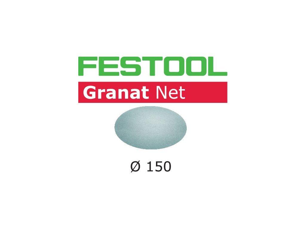 Brusivo s brusnou mřížkou STF D150 P400 GR NET/50 Granat Net