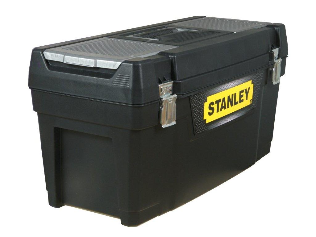 """Box na nářadí s kovovými přezkami, 25"""""""