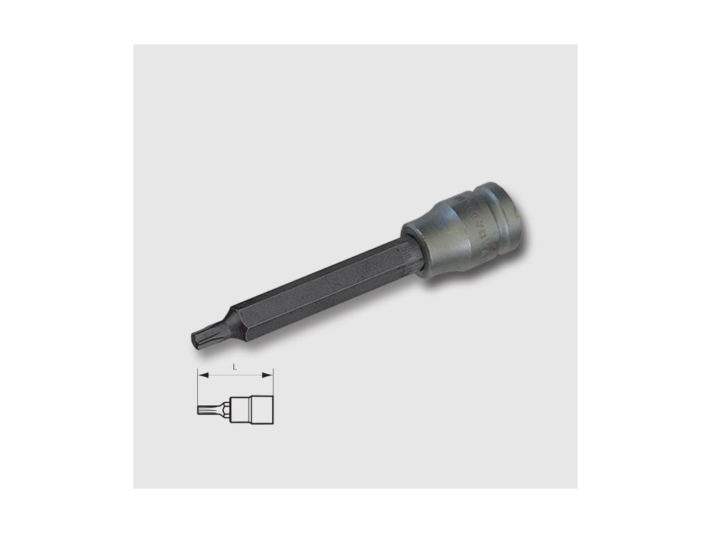 """Hlavice zástrčná torx 1/2"""" T30x140mm"""