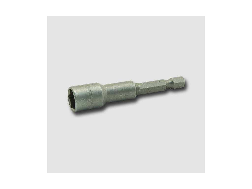 """Nástrčná hlavice s magnetem 7mm 1/4"""" 65mm"""