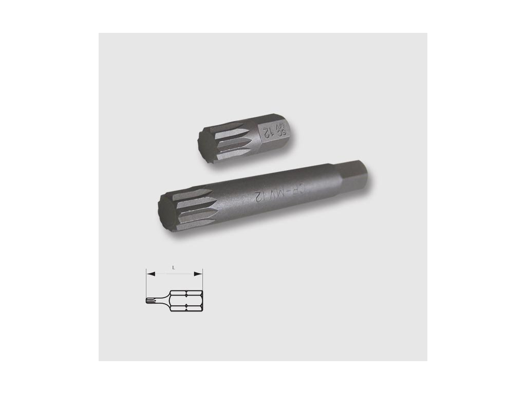 Bit 10mm/75mm XZN M8