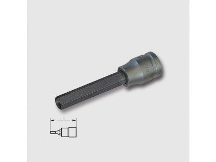 """Hlavice zástrčná imbus 1/2"""" 5-12mmx140mm zvolte velikost"""
