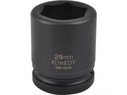 "3/4"" 6hranná průmyslová hlavice 17-46mm CrMo Kennedy (zvolte variantu)"