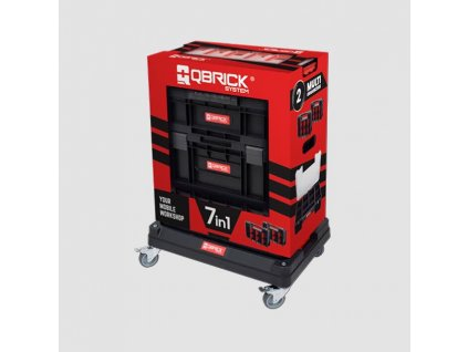 Set boxů Qbrick TWO Cart s podvozkem 7v1