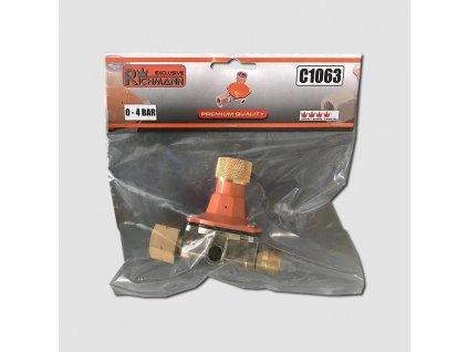 Redukční ventil pro hořáky