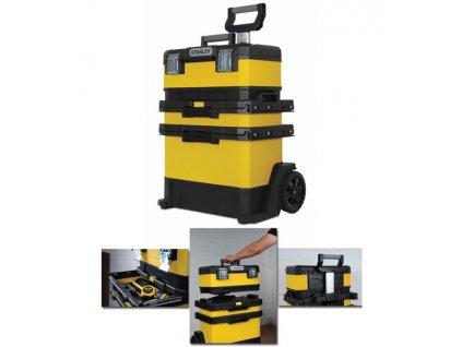 stanley kovoplastovy pojizdny montazni box 1 95 621 357087