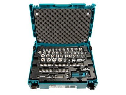Makita E-08713 sada klíčů, ořechů, bitů 120 ks, Makpac