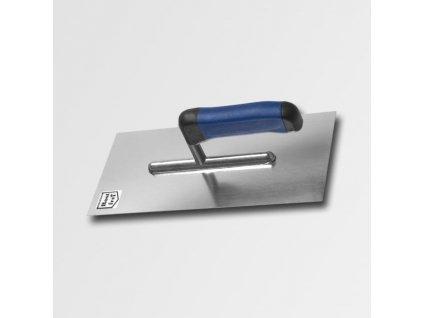Hladítko 270x127mm rovné nerez - softgrip