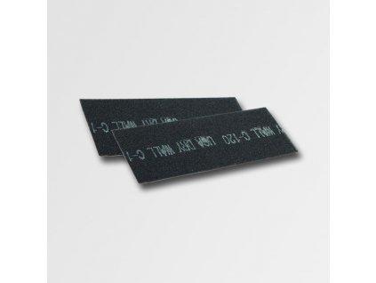 Brusná mřížka 115x280 mm, zr.80 10ks