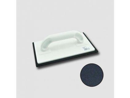 hladítko plastové - pryž černá 250x140x8mm