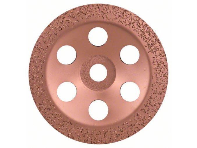 Miskovitý brúsny kotúč so zrnom z tvrdého kovu Stredný