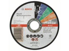 Rovný rezací kotúč Rapido Multi Construction ACS 46 V BF, 125 mm, 1,6 mm