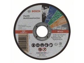 Rovný rezací kotúč Rapido Multi Construction ACS 60 V BF, 115 mm, 1,0 mm