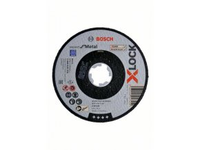 Rovné rezanie X-LOCK Expert for Metal 125 x 2,5 x 22,23 A 30 S BF, 125 mm, 2,5 mm
