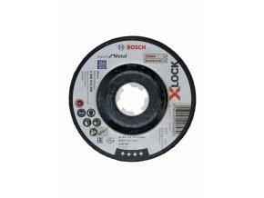 Brúsenie so stlačeným stredom X-LOCK Expert for Metal 115 x 6 x 22,23 A 30 T BF, 115 mm, 6,0 mm