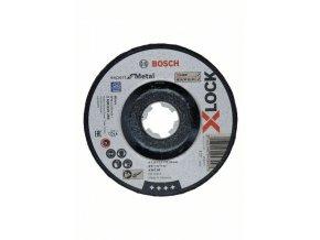 Brúsenie so stlačeným stredom X-LOCK Expert for Metal 125 x 6 x 22,23 A 30 T BF, 125 mm, 6,0 mm