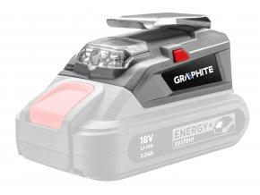 USB Adaptér - LED Baterka Energy+ 58G025