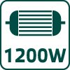 Kotúčová píla, 1200 W 52G682, kotúč 165x20 mm