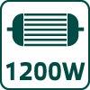 Kotúčová píla, 1200 W 52G684, kotúč 185x20 mm
