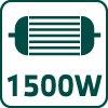Pokosová píla 1500W 52G206, kotúč 210x30 mm