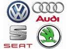 VW, Audi, Škoda, Seat