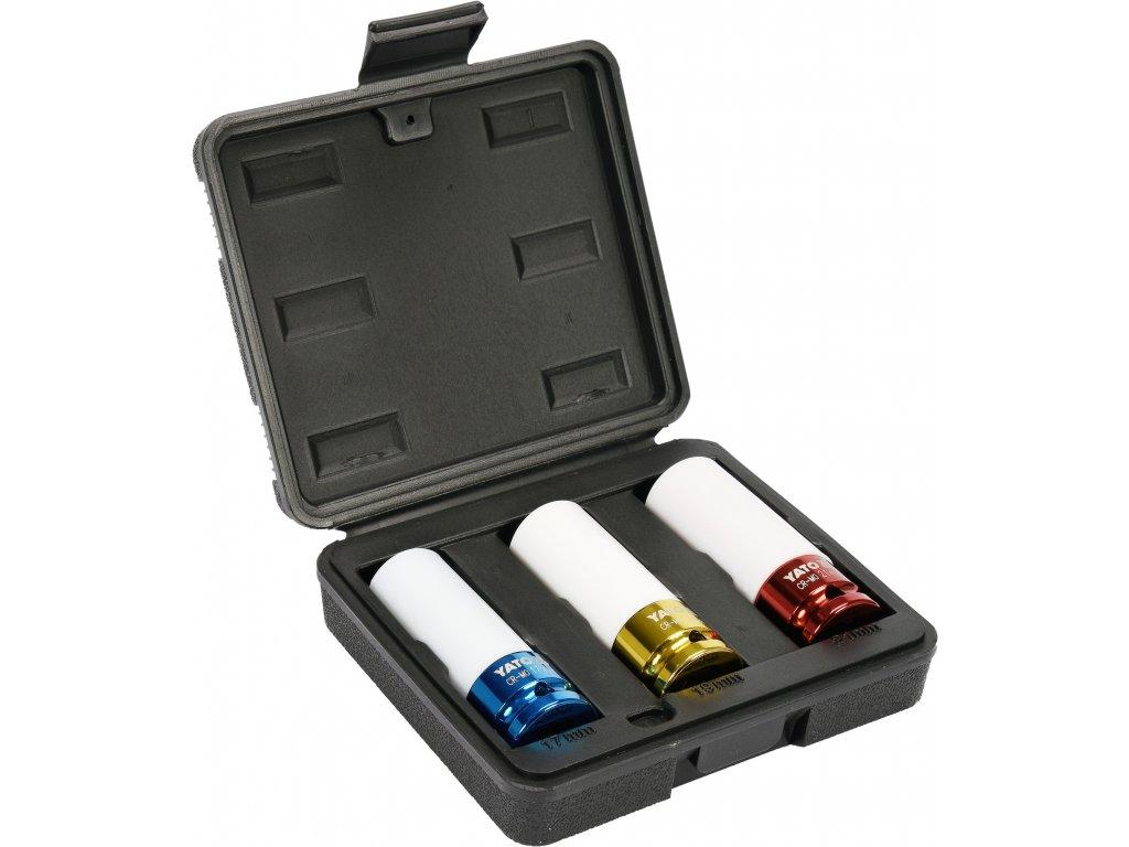 Sada nástrčných klíčů na alu ráfky YATO