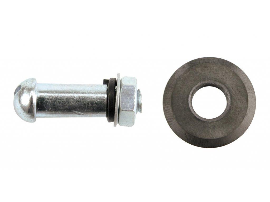 Kolečko výměnné se šroubem 22 x 6 x 2,0 mm