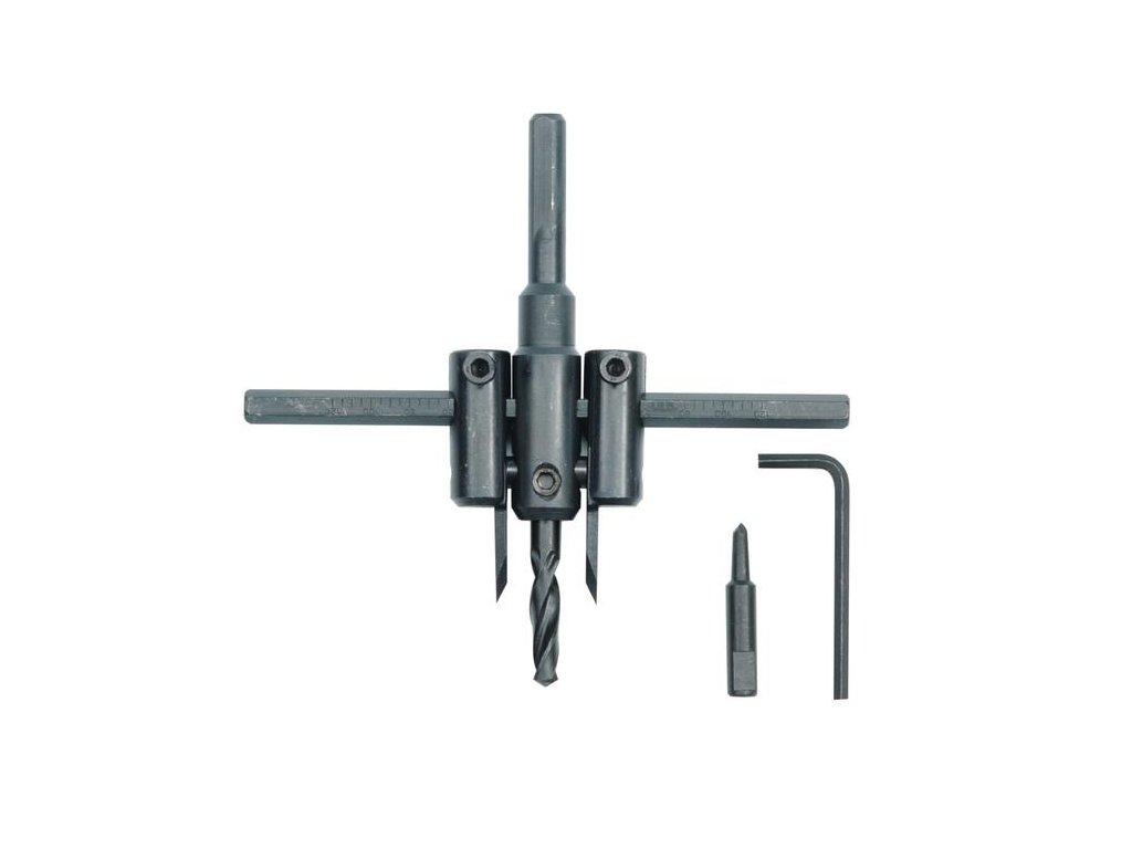 Výkružník do PVC 30 - 120 mm