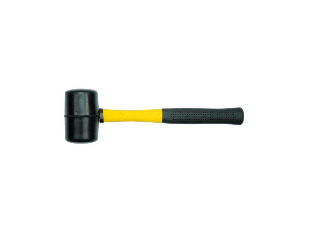 Palička gumová 76 mm rukojeť ze skleněných vláken