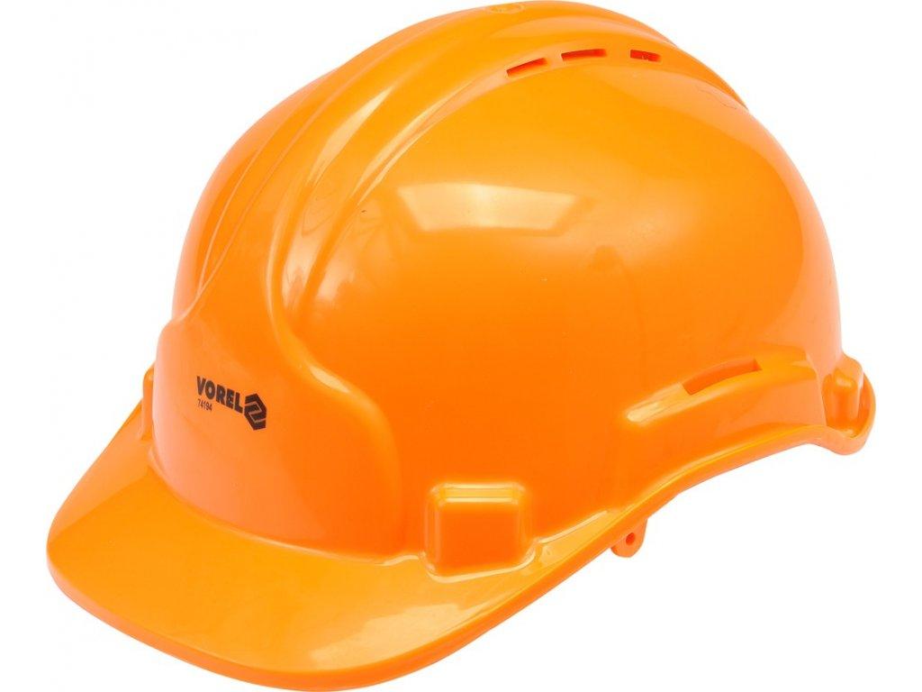 Přilba ochranná oranžová