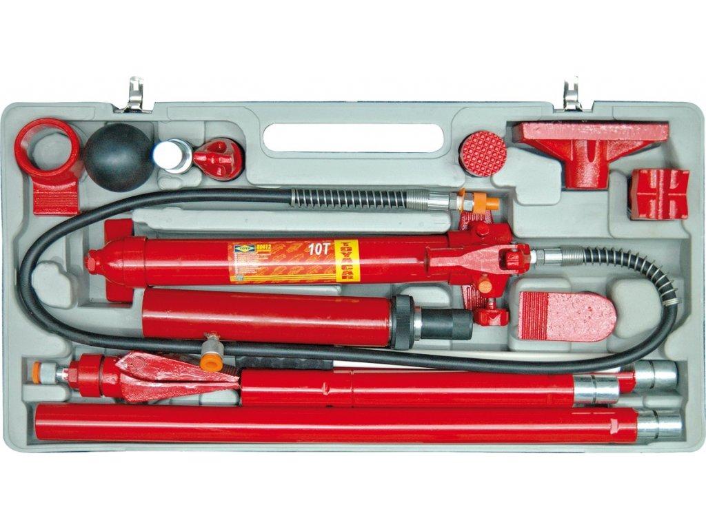 Rozpěrák hydraulický 10t sada