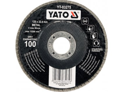 Kotouč lamelový brusný na kov 125x22,4mm P36