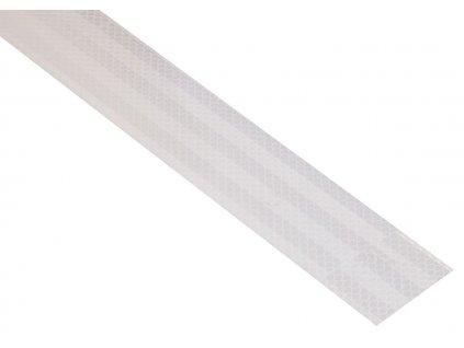 Samolepící páska reflexní 1m x 5cm bílá