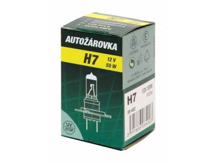 Žárovka 12V H7 55W PX26d box GREEN